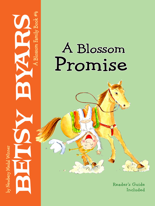 Title details for A Blossom Promise by Betsy Byars - Wait list