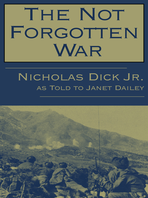 Title details for Not Forgotten War by Janet Dailey - Available