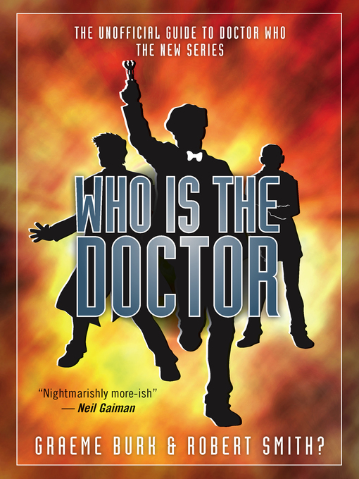 Title details for Who Is The Doctor, Book 1 by Graeme Burk - Available