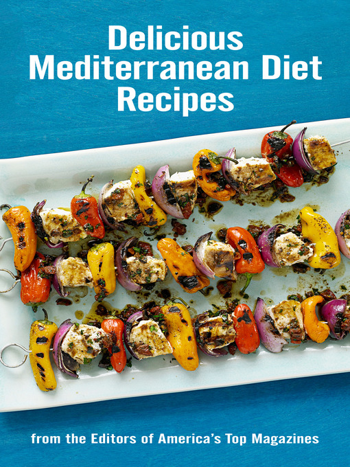Cover of Delicious Mediterranean Diet Recipes