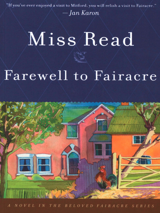 Title details for Farewell to Fairacre by Miss Read - Available