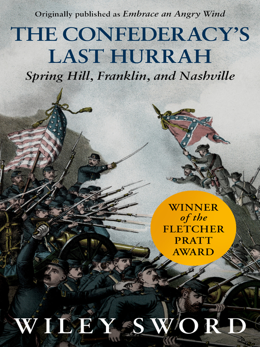 Cover of The Confederacy's Last Hurrah