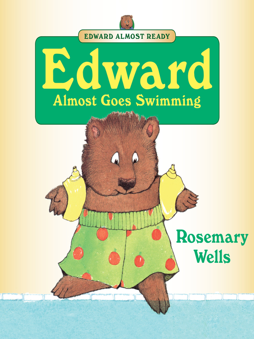 Cover of Edward Almost Goes Swimming