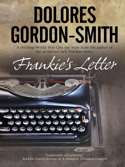 Title details for Frankie's Letter by Dolores Gordon-Smith - Wait list