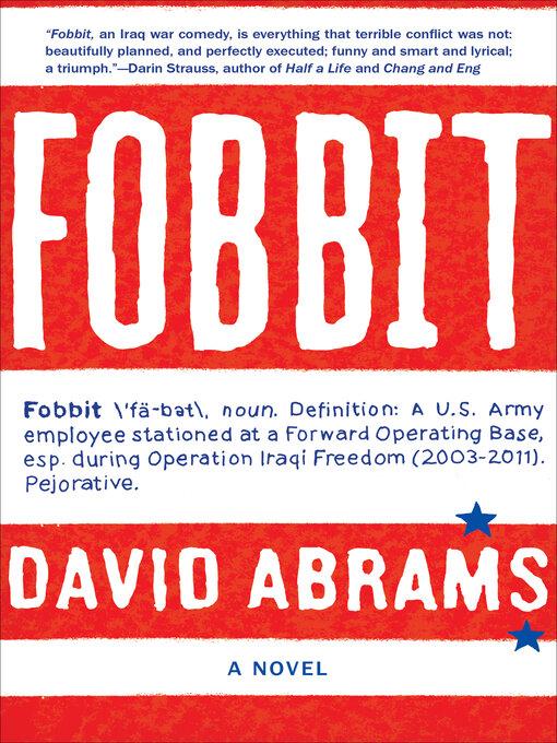 Title details for Fobbit by David Abrams - Wait list