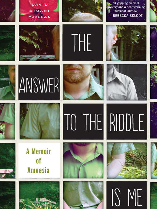 Cover of The Answer to the Riddle Is Me