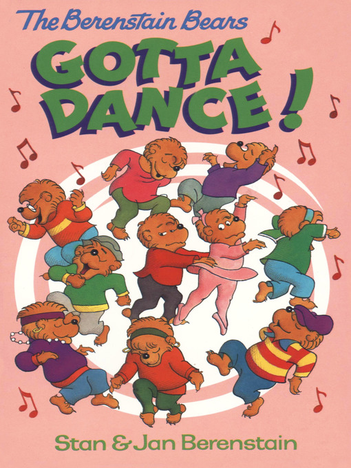 Cover image for The Berenstain Bears Gotta Dance!