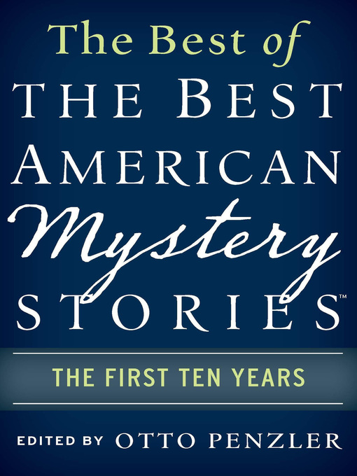 Cover image for The Best of the Best American Mystery Stories