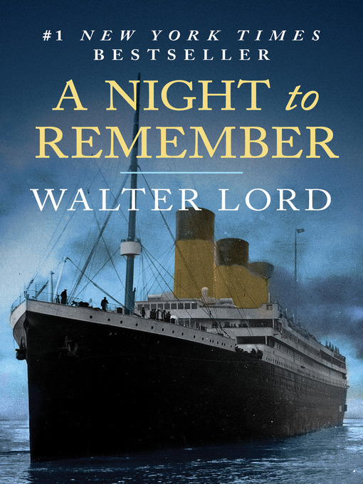 Title details for A Night to Remember by Walter Lord - Available
