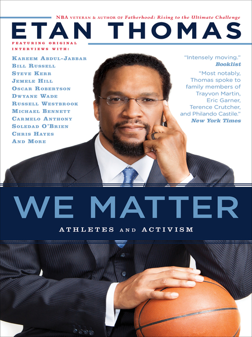 Title details for We Matter by Etan Thomas - Available