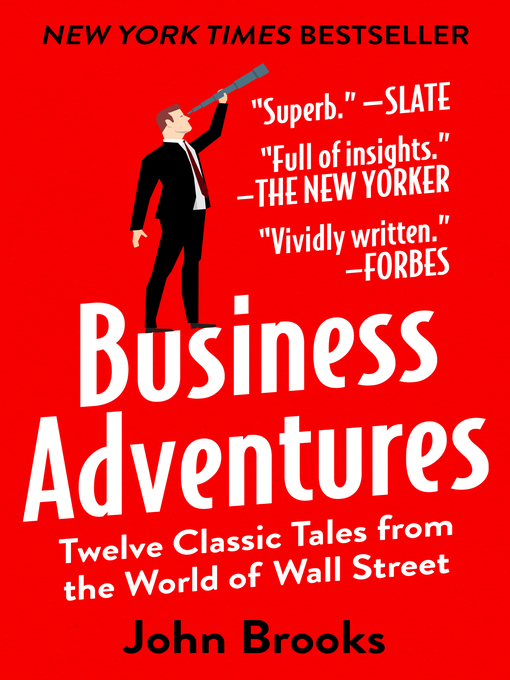 Title details for Business Adventures by John Brooks - Wait list