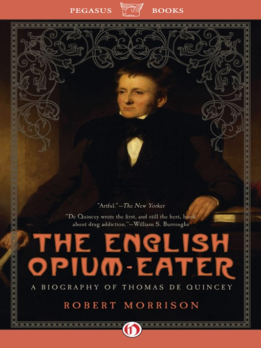 english literature essays orient opium drug Representations of drugs in nineteenth-century literature confessions of an english opium he dreamed of jumbled and merged associations of the 'orient.