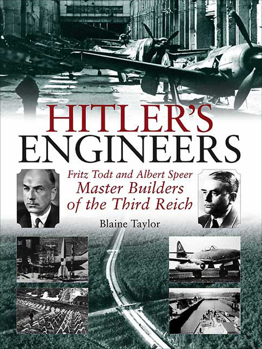 Cover of Hitler's Engineers