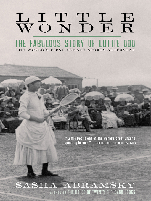 Title details for Little Wonder by Sasha Abramsky - Available