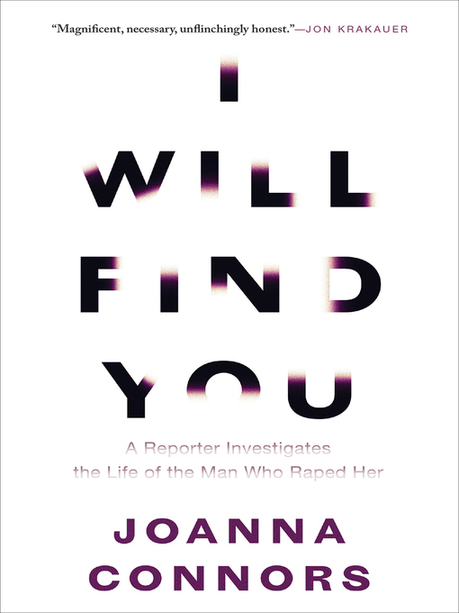 Title details for I Will Find You by Joanna Connors - Available