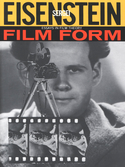 Title details for Film Form by Sergei Eisenstein - Available