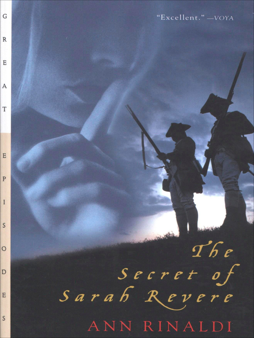 Title details for The Secret of Sarah Revere by Ann Rinaldi - Available