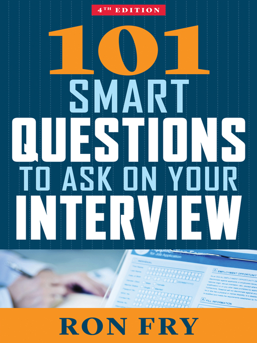 Cover of 101 Smart Questions to Ask on Your Interview