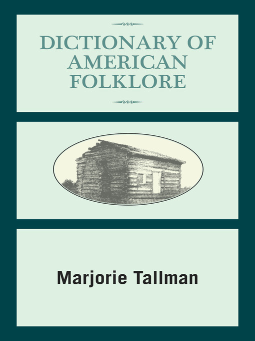 Cover of Dictionary of American Folklore