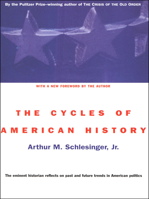 Title details for The Cycles of American History by Arthur M. Schlesinger - Available