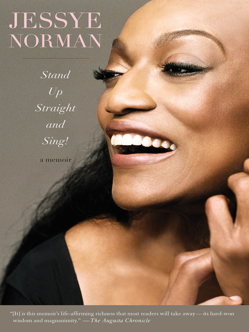 Title details for Stand Up Straight and Sing! by Jessye Norman - Available