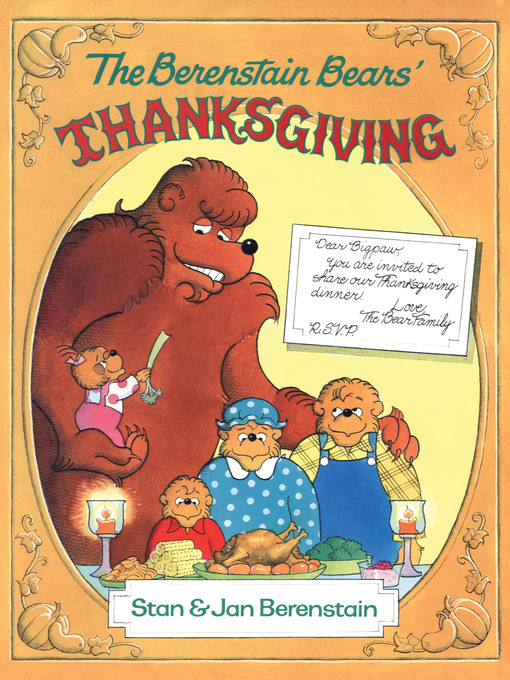 Title details for The Berenstain Bears' Thanksgiving by Stan Berenstain - Available