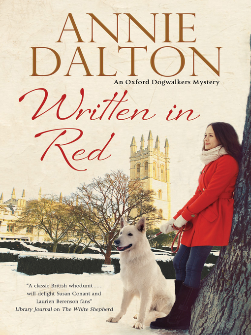 Title details for Written in Red by Annie Dalton - Wait list