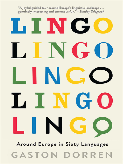 Title details for Lingo by Gaston Dorren - Wait list