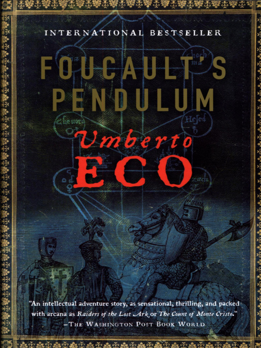 Title details for Foucault's Pendulum by Umberto Eco - Available