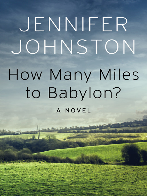 Cover of How Many Miles to Babylon?