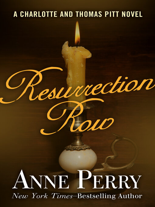 Title details for Resurrection Row by Anne Perry - Wait list