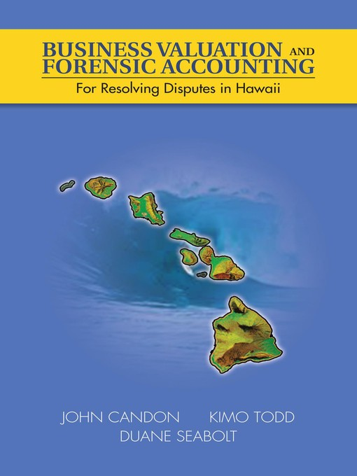 Title details for Business Valuation and Forensic Accounting by John Candon - Available