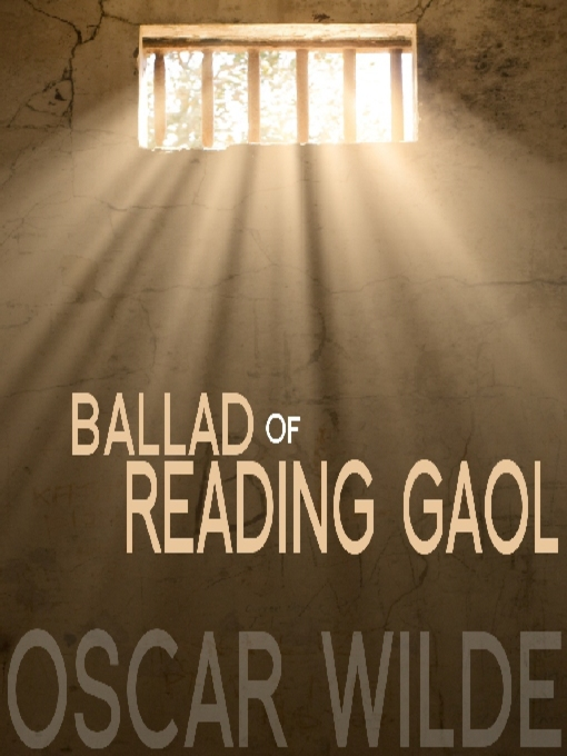 Cover of The Ballad of Reading Gaol
