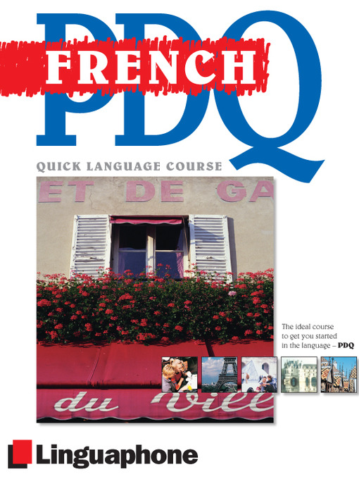 Title details for French PDQ Course by Michael Buckby - Available