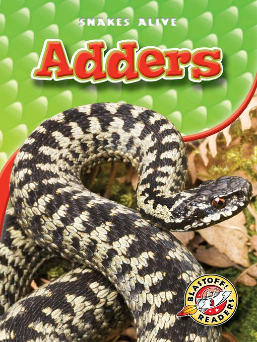 Title details for Adders by Ellen Frazel - Available