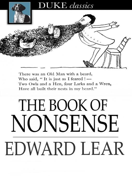 Cover: The Book of Nonsense