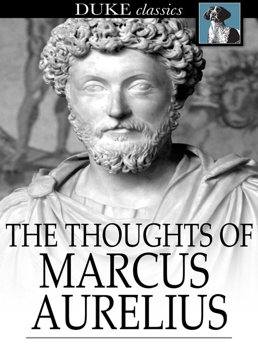 Cover of The Thoughts of Marcus Aurelius