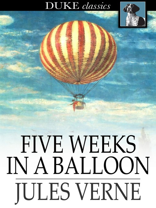Cover of Five Weeks in a Balloon