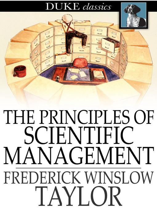 The Principles of Scientific Management の表紙