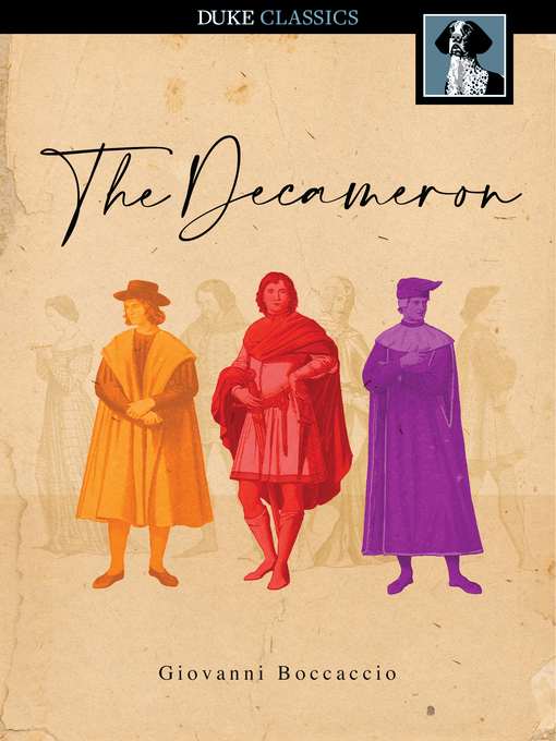 Cover of The Decameron