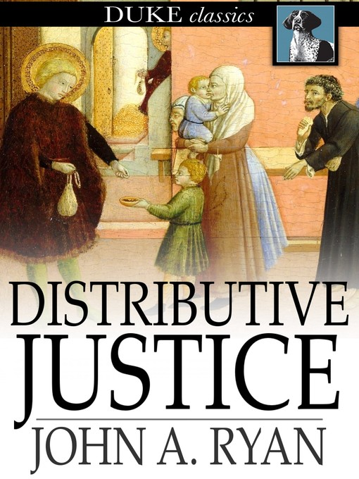 Cover of Distributive Justice