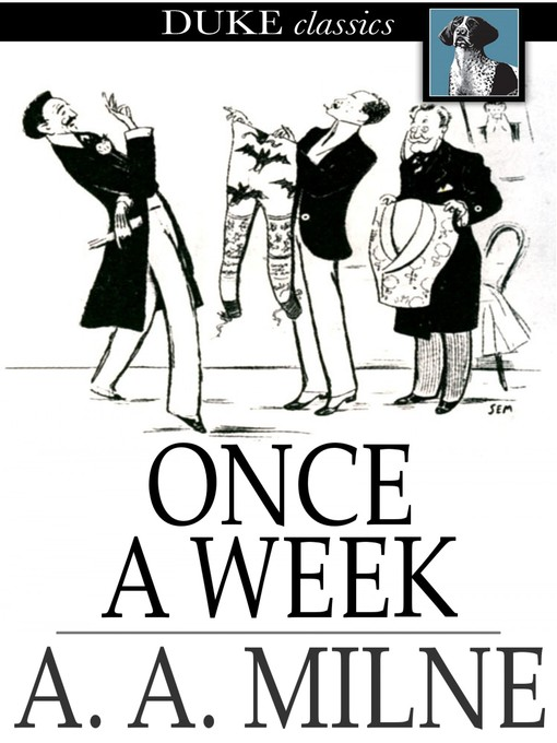 Cover of Once a Week