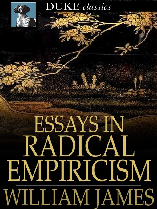 empiricism essays The argument of empiricism versus rationalism, in other words one can draw on the thoughts and theories of locke in opposition to the beliefs of descartes the argument between empiricism and rationalism can be broken down to the simple form of locke's imperialism being that all knowledge derives.