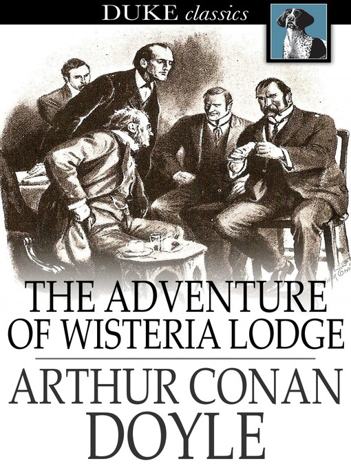 Cover of The Adventure of Wisteria Lodge