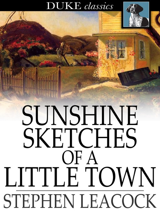 Cover of Sunshine Sketches of a Little Town