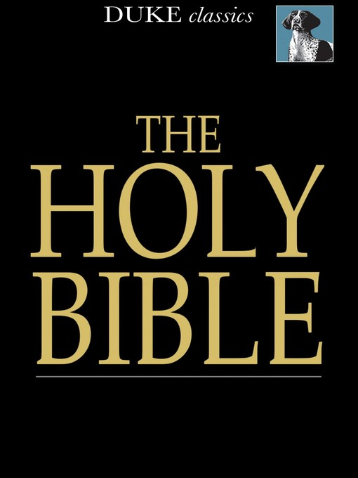 Title details for The Holy Bible by Unknown - Wait list