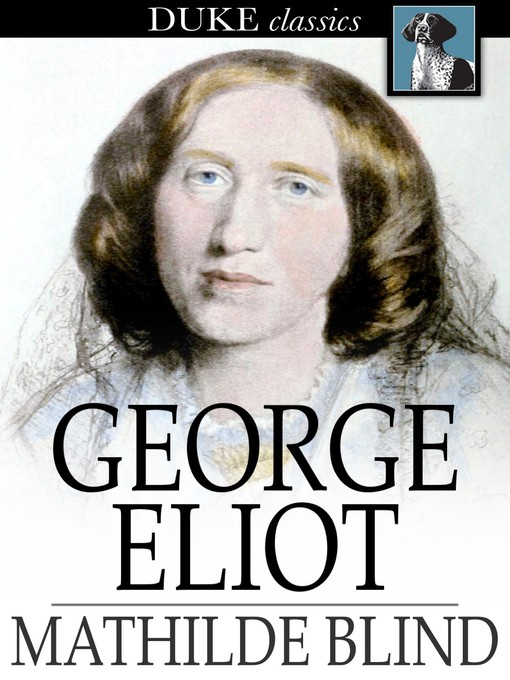 Cover of George Eliot