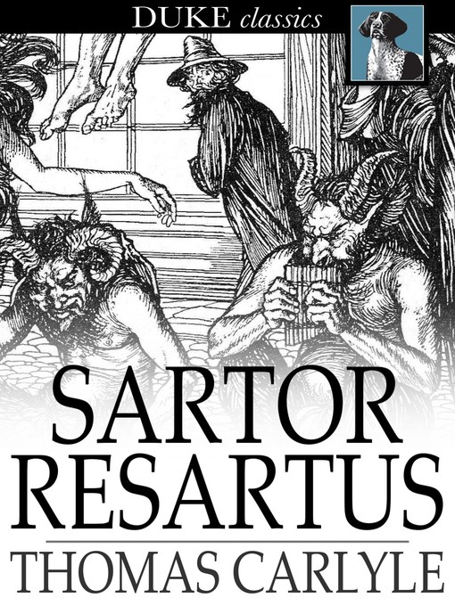sartor resartus essayist thomad Sartor resartus - thomas carlyle download here sartor resartus translates into the tailor retailored this volume is an introduction into the history of clothing.