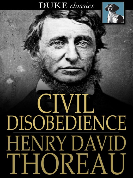 an introduction to the history of civil disobedience Sample thesis statements for presentations  by summarizing major moments in the history of tax-resistance in the u the new civil disobedience.