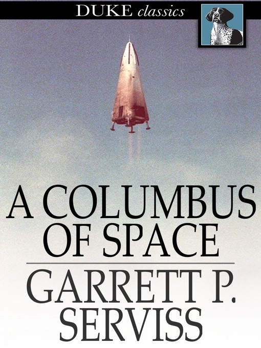 Cover of A Columbus of Space